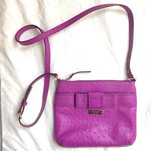 Kate Spade Ostrich Bow Crossbody Bag